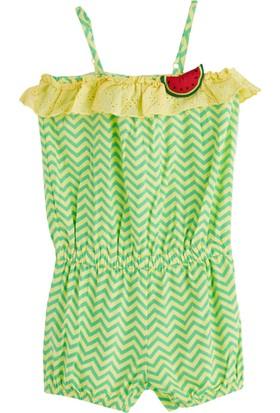 Soobe Watermelon Askılı Tulum 6 Yaş