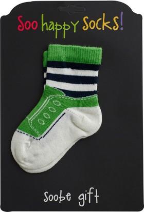 Soobe Erkek Newborn Çorap Yeşil