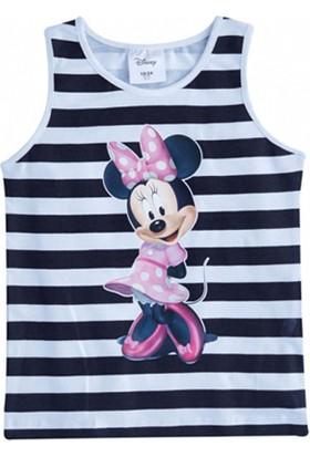 Soobe Lisanslı Disney Minnie Kolsuz T-Shirt Beyaz 7 Yaş