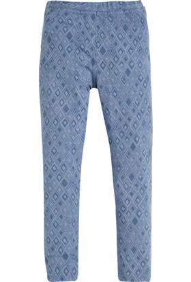 Soobe Pop Girls Çiçekli Pantolon Bulut 7 Yaş