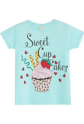 Soobe Pop Girls Cupcake Kısa Kol T-Shirt Çini 8 Yaş