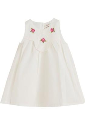 Soobe Little Parisienne Kolsuz Elbise Ekru 3 - 6 Ay