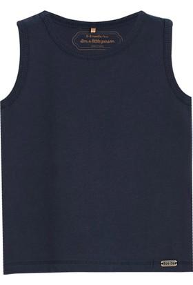 Soobe Pop Boys Kolsuz T-Shirt Lacivert 6 - 9 Ay