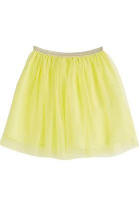 Soobe Pop Girls Tütülü Etek Limon Sarısı 5 Yaş