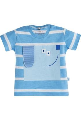 Soobe Fun Dog Kısa Kol T-Shirt Mavi 18 - 24 Ay