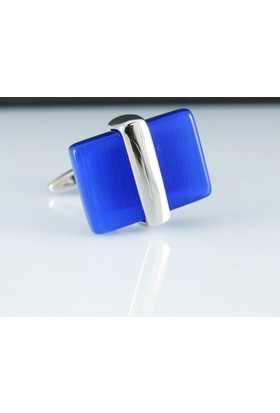 Extore Kol Düğmesi Klasik Lacivert Blue