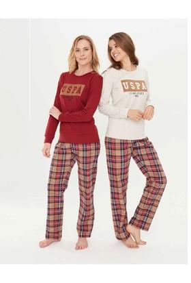 U.S.Polo 15682 Yuvarlak Yaka Pijama Takım