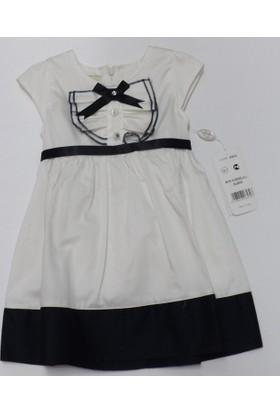 Mini Elbise 6532 Mini Kurdelalı Lacivert
