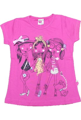 Marry Rose 13102 Tişört Ş.Pembe