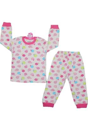 Minichic Pijama 1194 B.Yaka Pembe