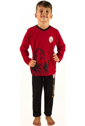 Galatasaray Galatasaray Lisanslı Çocuk Pijama Takımı 3 Yaş