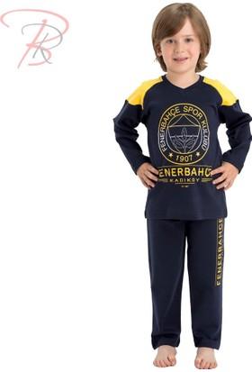 Fenerbahçe Fenerbahçe Lisanslı Çocuk Pijama Takımı 7 Yaş
