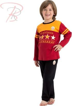 Galatasaray Galatasaray Lisanslı Çocuk Pijama Takımı 14 Yaş