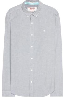 An Original Penguin Uzun Kollu Basic Oxford Gömlek