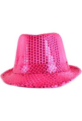 Bonalodi Pembe Payet Şapka