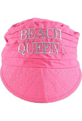 Bonalodi Pembe Beach Queen Taşlı Bandana