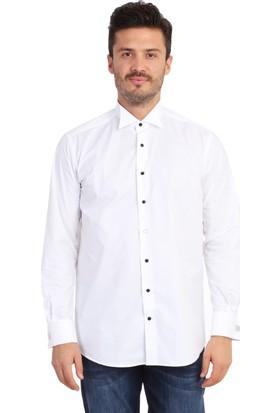 Kiğılı Uzun Kol Atayaka Gömlek