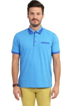 Kiğılı Polo Yaka Tasarım T-shirt