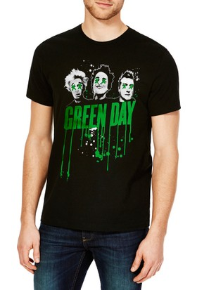 TshirtHane Green Day Baskılı Erkek Tshirt