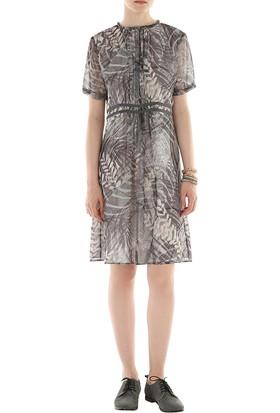 Yargıcı Büzgü Detaylı Elbise 6Kkel7115X