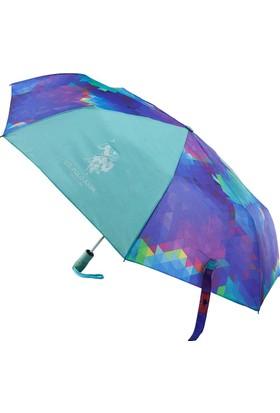 U.S Polo Assn. Renkli Şemsiye Plşem6607