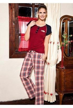 Betty & Barney Kısa Kollu Pijama Takımı