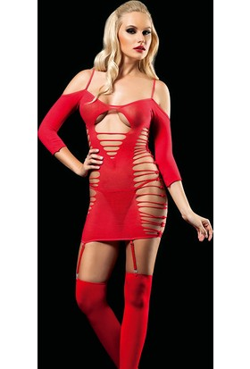 Cix Moda Erotica Seksi Leopar Kostümü