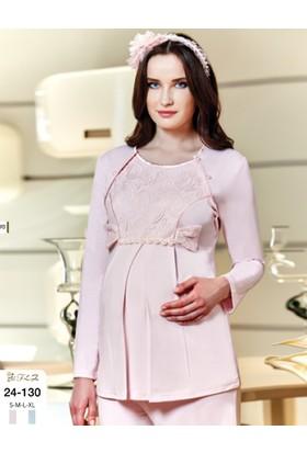 FLZ Bayan Lohusa Hamile Pijama Takım 24-130