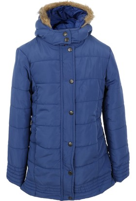 Soobe Pop Girls Coat Navy Kaban 8 Yaş