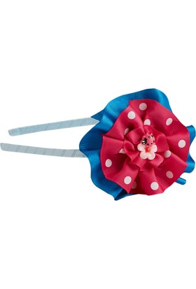 Soobe Figürlü Çiçek Taç Mavi