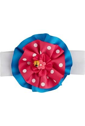 Soobe Figürlü Çiçek Saç Bandı Mavi