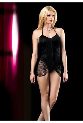 Cix Moda Erotica Seksi Dalgalı Püsküllü Kostümü