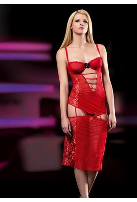 Cix Moda Erotica Seksi Transparan Kostümü
