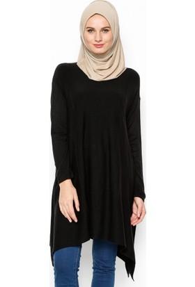 Salaş Triko Hırka - Siyah - Seyhan Fashion