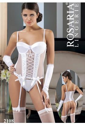 Rosaria 2108 Jartiyerli Büstiyer Takım
