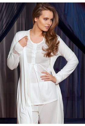 Yeni İnci BPJ-127 Bayan 3lü Pijama Takım