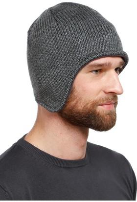 Fonem 82107 İçi Polarlı Kulakları Koruyan Erkek Bere - Antrasit