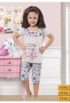 Özkan 40507 Kız Çocuk Kapri Takım