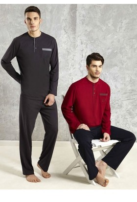 Mod Collection 1313 Uzun Kol Pijama Takım