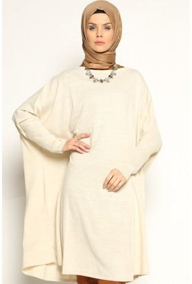 Yarasa Kollu Tunik - Taş - Seyhan Fashion