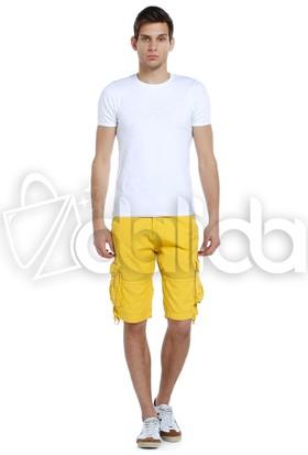 Kilroy Kargo Erkek Şort - 1202 - Sarı