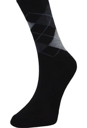 Dikişsiz Burun Erkek Çorap 5639 - Siyah