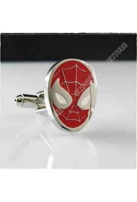 Extore Kol Düğmesi Örümcek Adam Spiderman