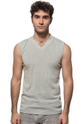 Özkan Erkek V Yaka Kolsuz T-Shirt 0268