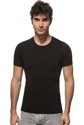 Özkan Erkek Düğmel Yarım Kol T-Shirt 0275