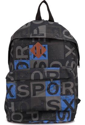Oxide Ert16W101 Mavi Unisex Backpack Çanta