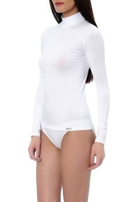 Doreanse 8510 Uzun Kollu Boğazlı T-Shirt