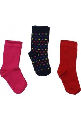 ModaKids Wonder Kids Kız Çocuk 3 lü Soket Çorap 010-5000-022
