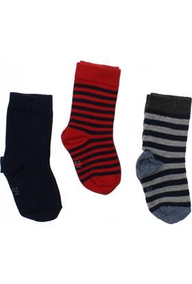 ModaKids Wonder Kids Erkek Çocuk 3 lü Soket Çorap 010-5003-012