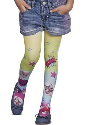 Penti Pretty Hazel Külotlu Çorap Beyaz - 4 Yaş